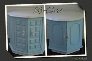 Acccent/Bedside Tables by Re-Girl