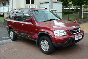 1998 Honda CRV (CR-V) 4WD Red JDM Postal Vehicle RHD Right Hand