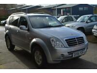 2006 SSANGYONG REXTON 270 SE Tip Auto TOTAL SERVICE HISTORY
