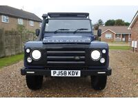 Landrover defender Puma county Tdci 2.4 72k miles may px