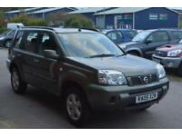 2005 NISSAN X TRAIL 2.0 16v SE LOW MILEAGE FULL SERVICE HISTORY SUPERB
