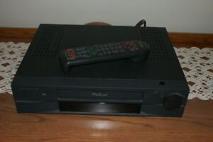 PROSCAN VCR AND 6 MOVIES