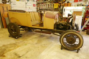 1928 Ford Phaeton and spares
