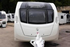 Swift Challenger 580 SE, 2013, 4 berth, transverse bed, end washroom