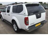2015 WHITE NISSAN NAVARA 2.5 DCI 4WD TEKNA CREW CAB PICKUP CAR FINANCE FR 46 PW