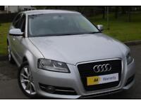£0 DEPOSIT FINANCE (62)Audi A3 2.0 TDI Sport Sportback 5dr ****£30 ROAD TAX**...
