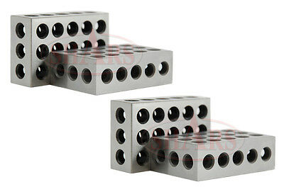 Shars Brand New 2 Matched Pairs 4pcs 1-2-3 Block Set .0002 New