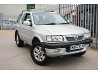 Almost Extinct 2002 Vauxhall Frontera 2.2i 16v Olympus - One Owner - Just 65,000