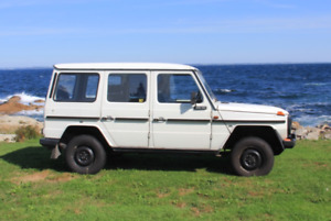 1997 Mercedes-Benz G-Class Puch 290GD SUV, Crossover