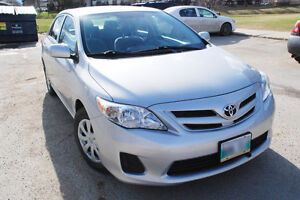 MINT 2011 Toyota Corolla with 2 Years TOYOTA Warranty / OWNER