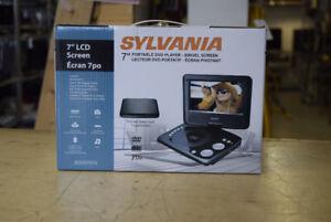 Sylvania 7-Inch Swivel Screen Portable DVD Player - NEW IN BOX