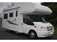 Geist Spirit 598, Ford Transit based LMC motorhome, Rear Lounge, 4 Berth