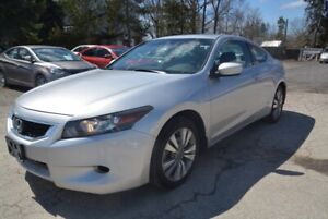 2009 Honda Accord 2dr, Auto EX-L, leather, sunroof, one owner
