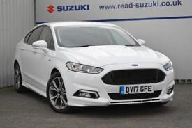 2017 Ford Mondeo 2.0 TDCi ST-Line (s/s) 5dr Diesel white Manual