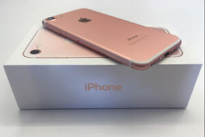 APPLE IPHONE 7 128GB GOLD  UNLOCK WITH APPLE WARRANTY
