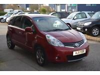 2011 NISSAN NOTE 1.6 N Tec Auto