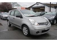 2008 Nissan Note 1.4 16v Visia low miles