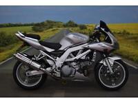 Suzuki SV1000 **Aftermarket Exhaust, R&G Bobbins, Braided Hoses**