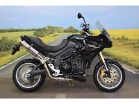 Triumph Tiger 1050 **Delkevic Exhaust, Braided Hoses, Heated Grips**
