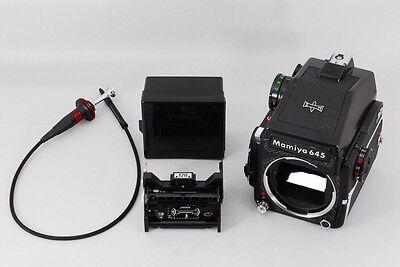Пленочные фотокамеры Mamiya M645 1000S body+PD