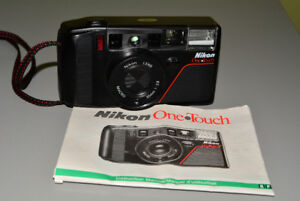 Nikon One Touch 35mm Film Camera with Manual