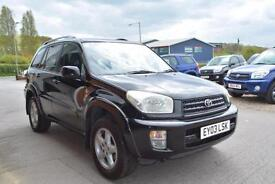 2003 TOYOTA RAV 4 2.0 VX AUTOMATIC FULL LEATHER SUNROOF