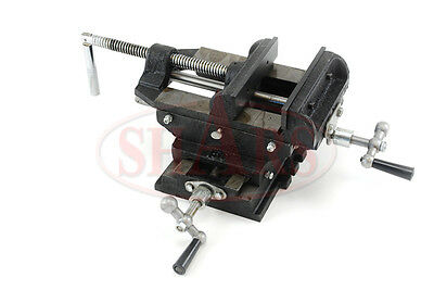 Shars 2 Way 3 Drill Press X-y Compound Vise Cross Slide Mill New 5