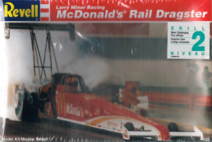 Modèle à coller Revell McDonald Larry Minor Rail Dragster