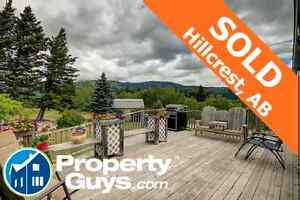 SOLD! in 2 Months -  Crowsnest Pass