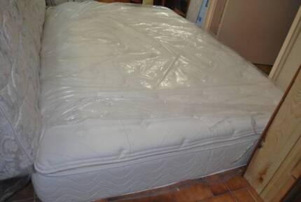 Sealy, Sleepmaker queen mattress, frame/base (DELIVER)4 SALE from