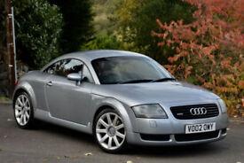 Audi TT Coupe 1.8 ( 225bhp ) 2002MY T quattro Avus Silver