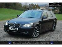BMW 5 SERIES 525D SE TOURING - SAT NAV, iDRIVE, Blue, Auto, Diesel, 2008