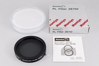 Near MINT Mamiya ZE702 Mamiya 7 II Polarisation Filter PL ZE702 Top OVP Japan
