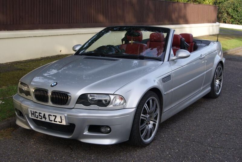 2004 54 Bmw M3 Silver With Red Leather Manual Convertible In Maidenhead Berkshire Gumtree