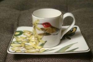 Villeroy & Boch 12-Piece Espresso Cup and Saucer Set