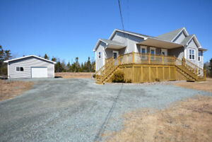 Executive Bungalow with Detached Garage!
