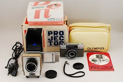 NEAR MINT in BOX Olympus PEN EES +EXC+++ Olympus PEN PROJECTOR from japan #351
