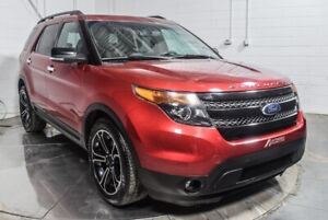 Ford Explorer sport awd cuir toit ouvrant navigation 2014