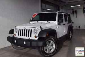 2013 Jeep Wrangler Unlimited SPORT-2TOITS-MAGS-AUTOMATIQUE