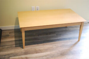 Maple Coffee Table and Side Table