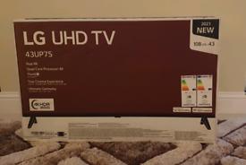 43 Inch LG 4K UHD TV NEW IN THE BOX