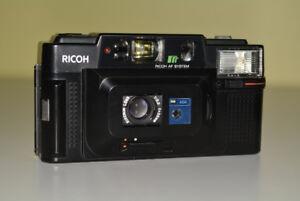 Ricoh FF-3 AF 35mm Film Camera with Case