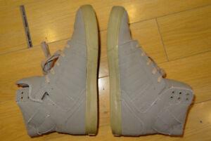 Supra Shoes - Size 11 - Skytop Grey