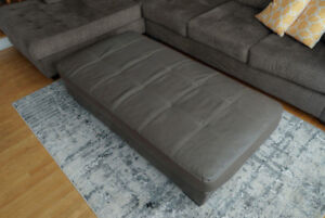 Beautiful Tufted Ottoman for sale