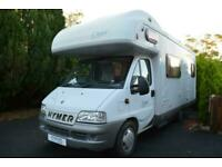2002 HYMER CAMP C644 COACHBUILT 6 BERTH 6 BELTS MOTORHOME FOR SALE