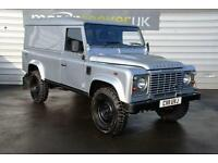 2011 Land Rover Defender 110 Hard Top TDCi boost alloys county pack 1 owner f...