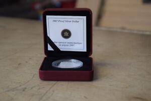 2007 Proof Canadian Silver Dollar - Celebrating Theyendanegea