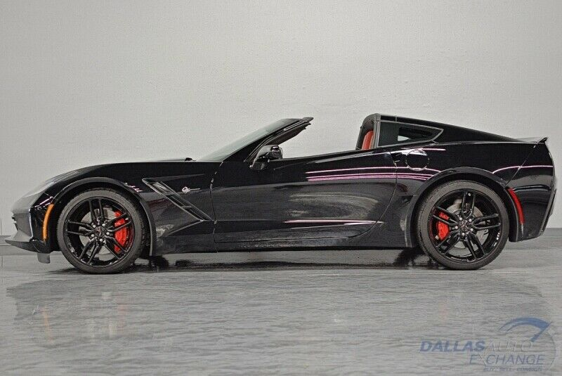 2016 Black Chevrolet Corvette  3LT | C7 Corvette Photo 9