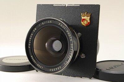 Fujifilm Fujinon-SW 105mm f/8 Lens w/Seiko Shutter, Wista Board [Excellent+]#521