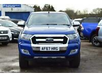 2017 Ford Ranger LIMITED 4X4 DCB TDCI Pick Up Diesel Manual